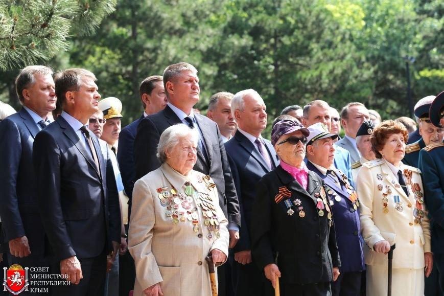 В День памяти и скорби в Симферополе почтили память павших героев-освободителей (ФОТОРЕПОРТАЖ, ВИДЕО), фото-6