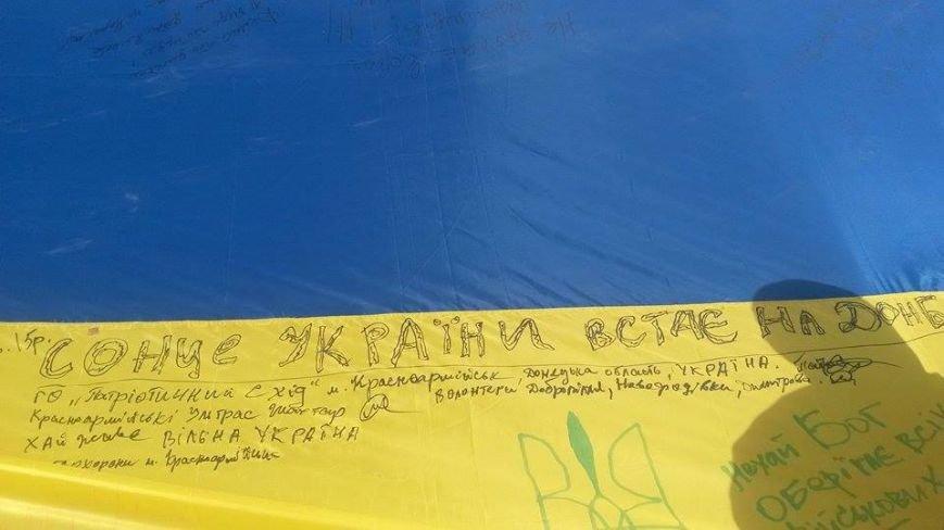 Жители Красноармейска поучаствовали в объединении Украины, фото-2