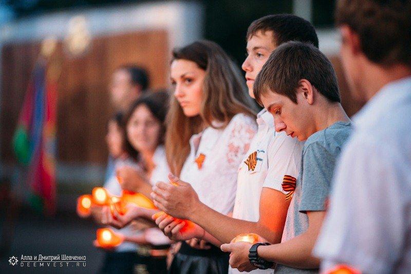 В Лабинске состоялась акция «Свеча Памяти» (фото) - фото 1