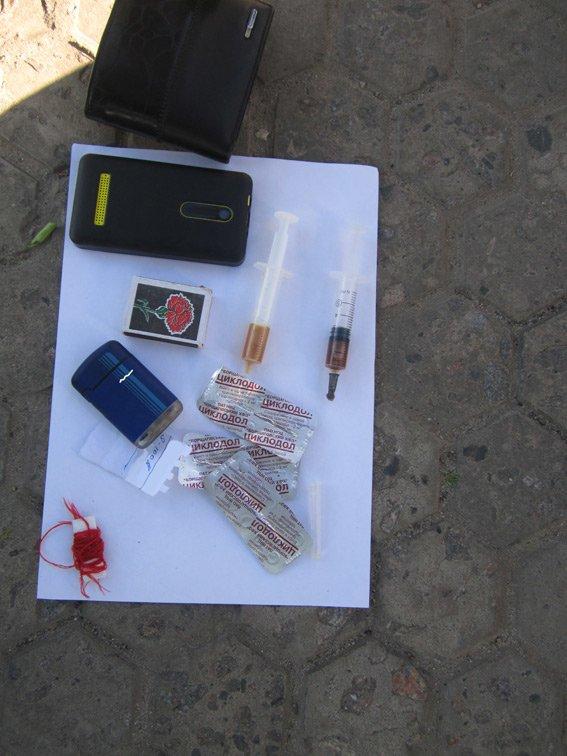 В Сумах на СКД задержали наркомана со стажем (ФОТО) (фото) - фото 1