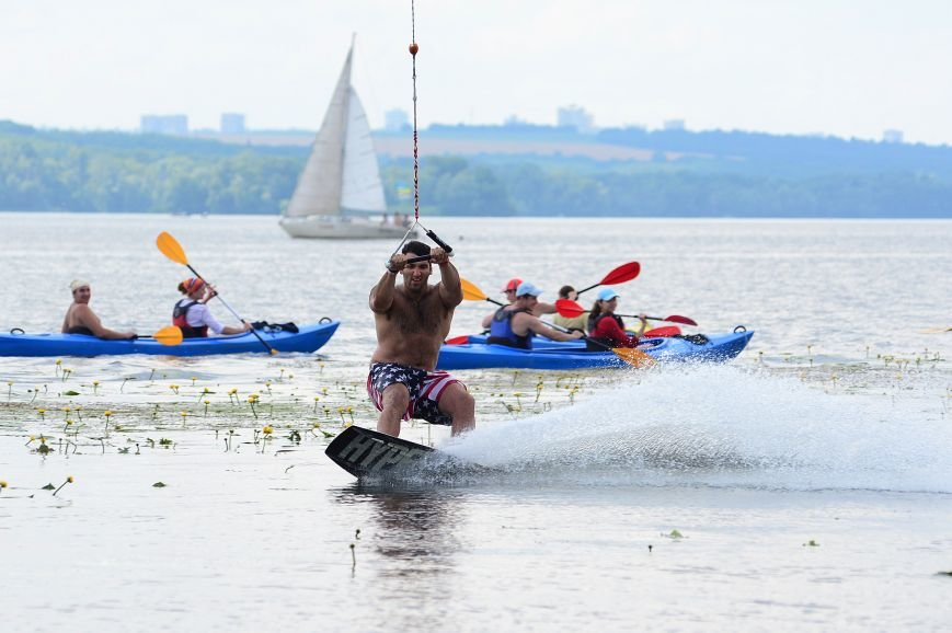 В Запорожье состоялся зрелищный спортивный фестиваль по Вейбордингу (ФОТОРЕПОРТАЖ) (фото) - фото 2