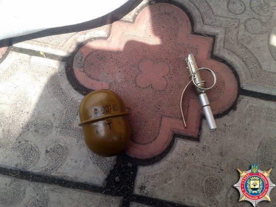 На подопечного Красноармейского благотворительного центра изъята боевая граната (фото) - фото 1