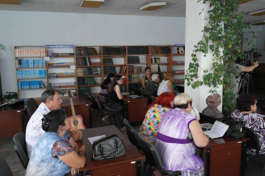 В библиотеке Красноармейска поделились воспоминаниями и неизвестными фактами о войне, фото-4