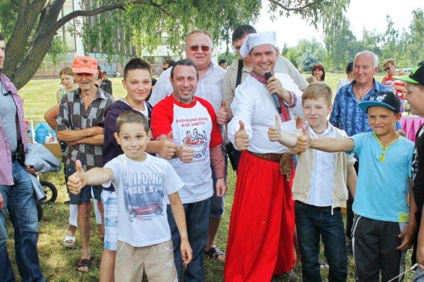 В Чернигове готовили борщ с Укропом, фото-3