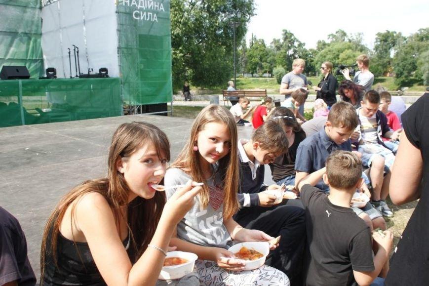 В Чернигове готовили борщ с Укропом, фото-4