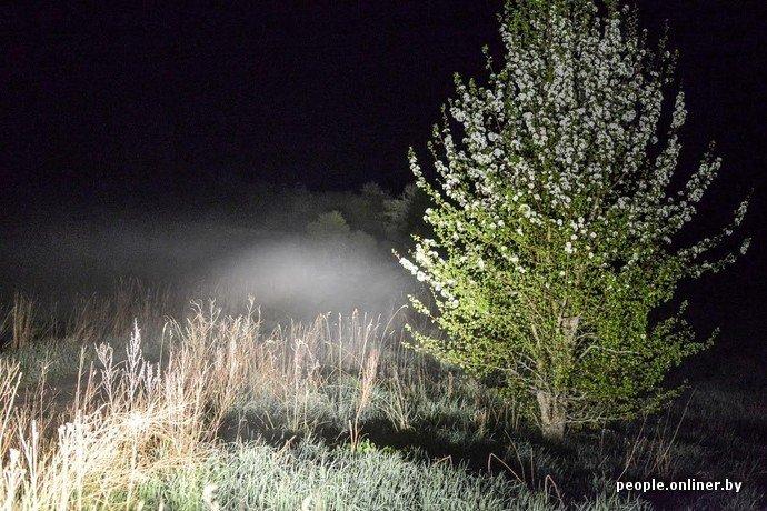 Фоторепортаж: в Сморгонском районе уфологи искали призрак «белой дамы» (фото) - фото 14