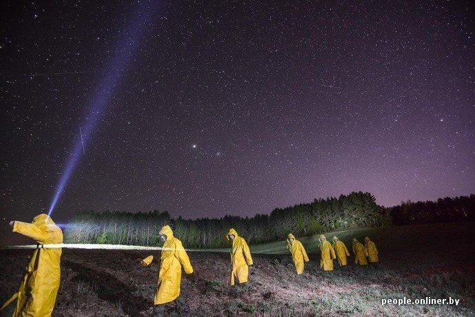 Фоторепортаж: в Сморгонском районе уфологи искали призрак «белой дамы» (фото) - фото 10