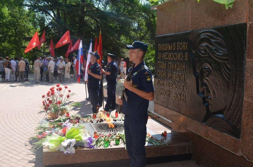 Феодосийцы почтили память погибших защитников Отечества (Фото), фото-5