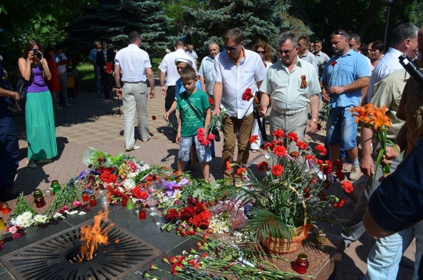 Феодосийцы почтили память погибших защитников Отечества (Фото), фото-3