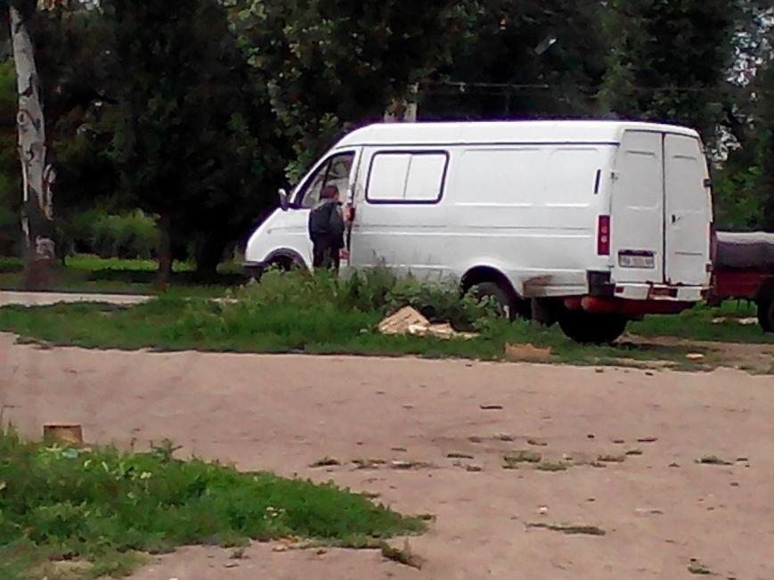 В Кировограде вскрыли грузовой микроавтобус. ФОТО (фото) - фото 1