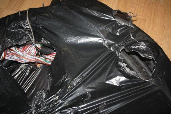 В Кременчуге пойман вор телефонного кабеля (ФОТО) (фото) - фото 1