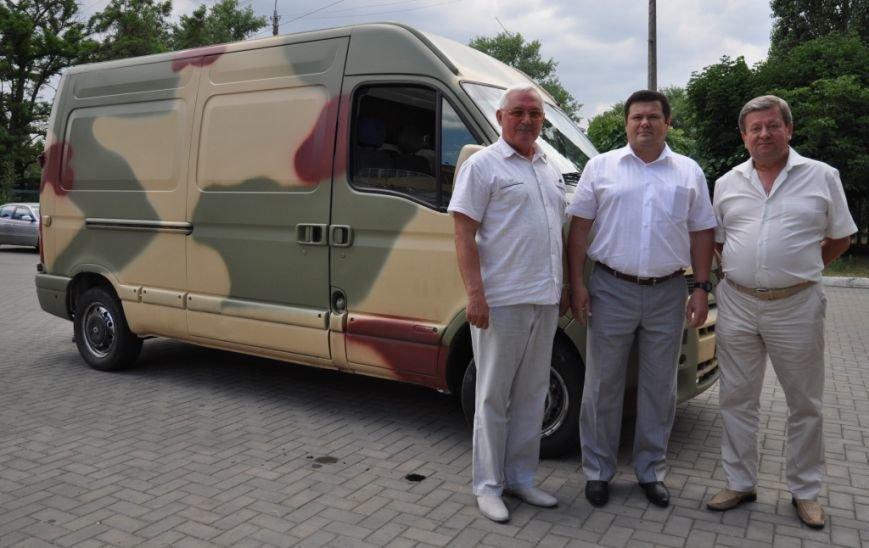 Николаевские десантники обзавелись микроавтобусом (ФОТО), фото-1
