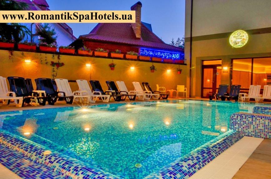 Отдых в Карпатах Романтик Спа отель (фото) - фото 2