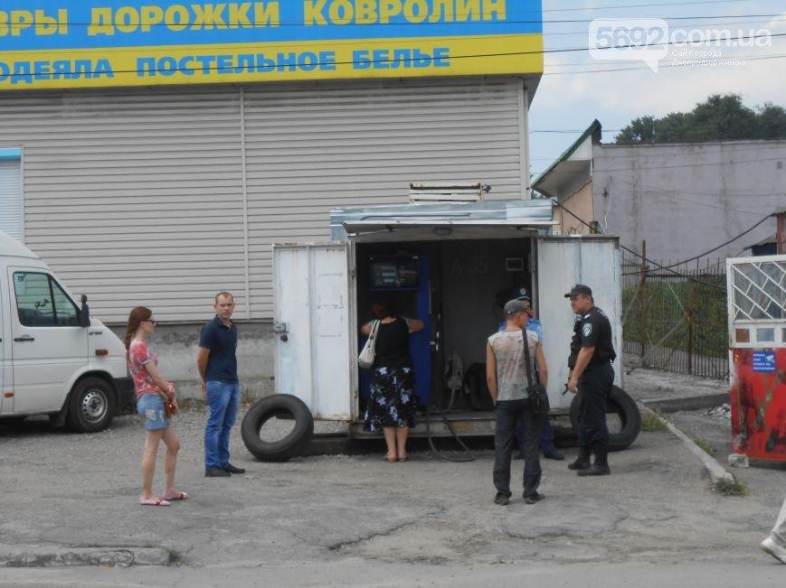 В Днепродзержинске ведется проверка работы АЗС на улице Республиканской (фото) - фото 1