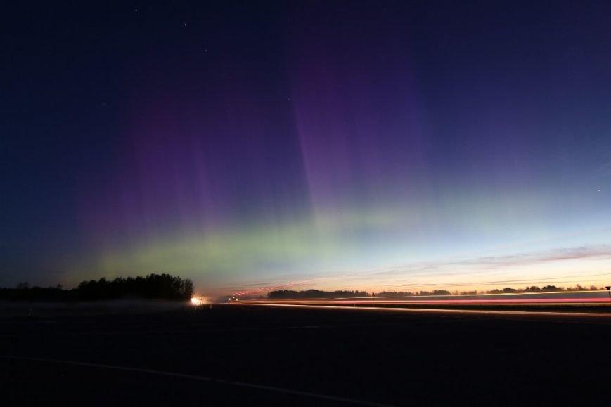 Криворожане наблюдали яркое полярное сияние, вызванное мощной геомагнитной бурей (ФОТО) (фото) - фото 4