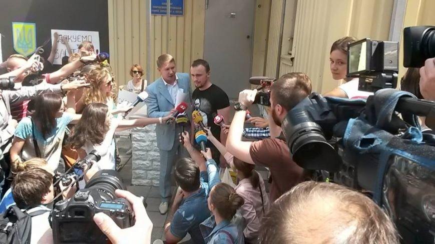 Подозреваемого в убийстве Бузины выпустили под залог, но вручили повестку (ФОТО) (фото) - фото 1