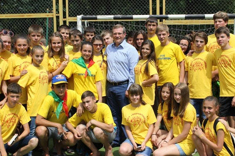 Александр Вилкул провёл публичный отчет о работе Фонда «Украинская перспектива