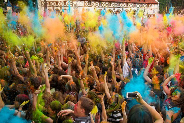 В центре Одессы будут массово бросаться красками (ФОТО) (фото) - фото 1