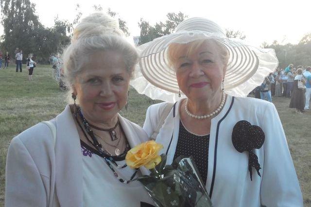 Ольга Генриховна с подругой