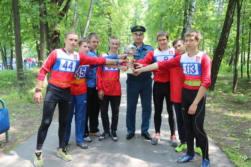 Команда юношей из Новой Москвы - стала первой по «Боевому развёртыванию» на Чемпионате города Москвы по пожарно-прикладному спорту, фото-3