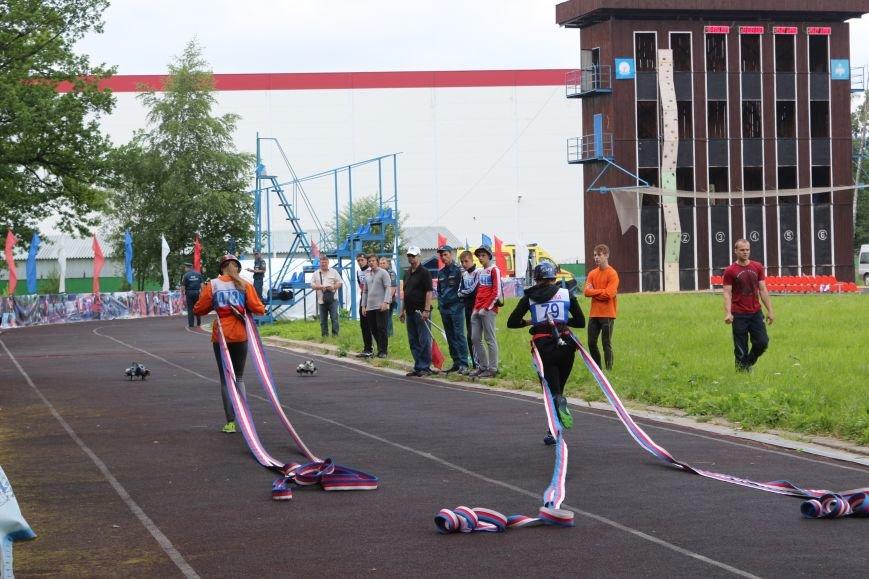 Команда юношей из Новой Москвы - стала первой по «Боевому развёртыванию» на Чемпионате города Москвы по пожарно-прикладному спорту, фото-1