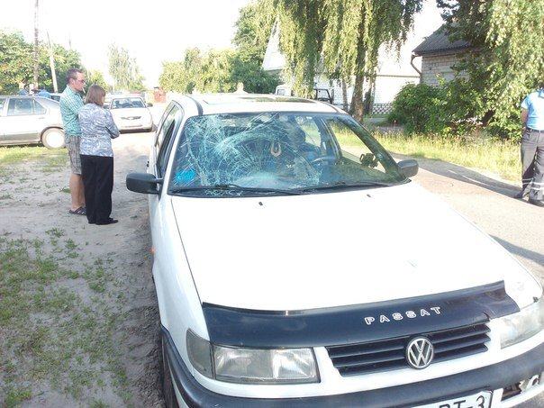Фотофакт: на улице Белорусской автомобиль сбил ребенка на велосипеде (фото) - фото 7