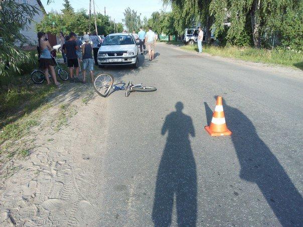 Фотофакт: на улице Белорусской автомобиль сбил ребенка на велосипеде (фото) - фото 5