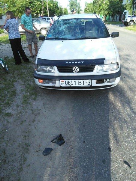 Фотофакт: на улице Белорусской автомобиль сбил ребенка на велосипеде (фото) - фото 4