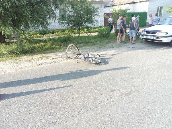 Фотофакт: на улице Белорусской автомобиль сбил ребенка на велосипеде (фото) - фото 3