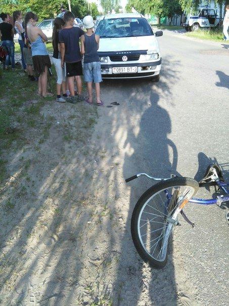 Фотофакт: на улице Белорусской автомобиль сбил ребенка на велосипеде (фото) - фото 2