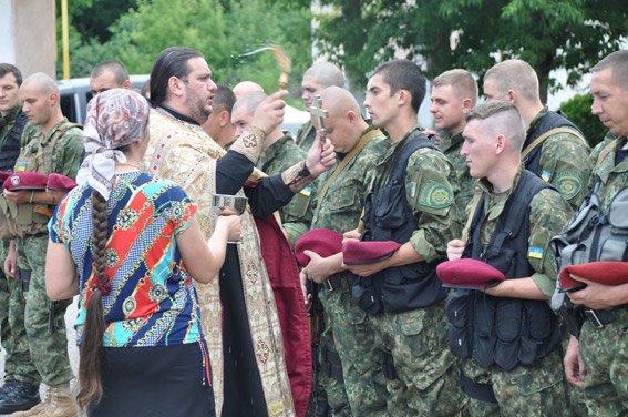 Николаевский спецназ сменил на «передовой» своих товарищей (ФОТО) (фото) - фото 2