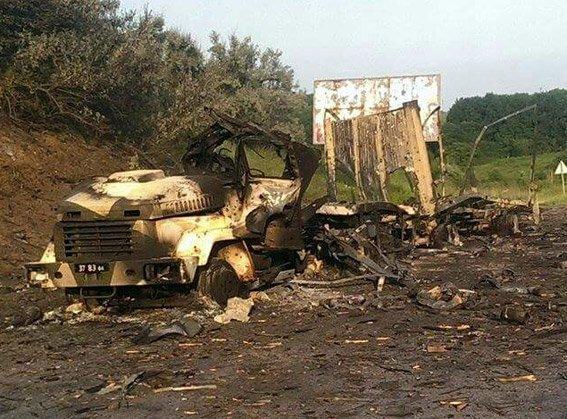 В Полтаве взорвался военный грузовик с боеприпасами (ФОТО, ВИДЕО) (фото) - фото 1