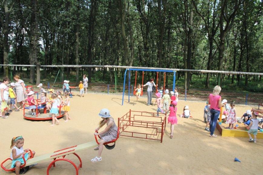 В Николаеве за 3 недели «выросла» новая детская площадка (ФОТО), фото-6