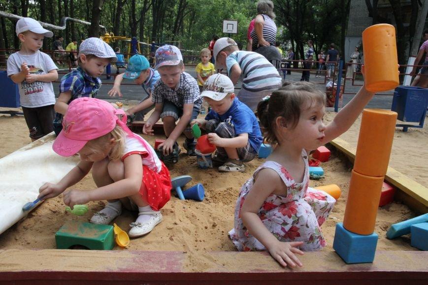 В Николаеве за 3 недели «выросла» новая детская площадка (ФОТО), фото-2