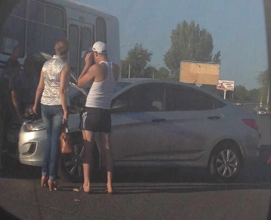 Вал ДТП в Ульяновске продолжается. 23 июня – две аварии в городе. Фото (фото) - фото 1