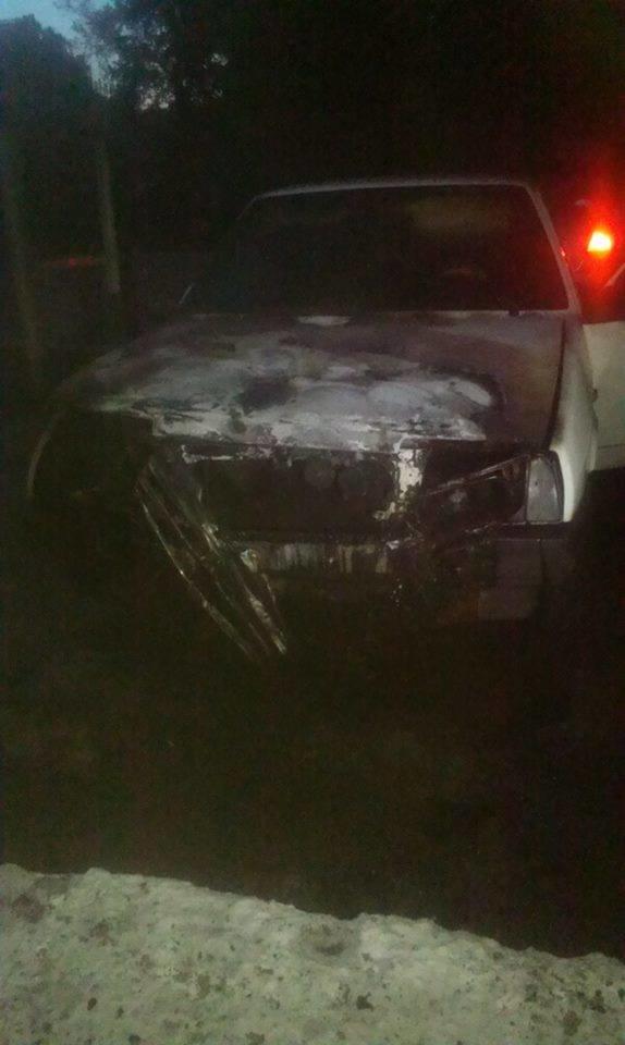 На Сумщине главному редактору сожгли автомобиль. Подозревают милицию (фото) - фото 1