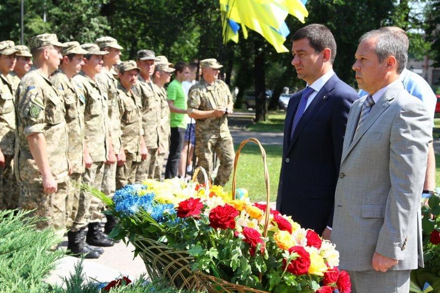 В Запорожье в честь Дня Конституции почтили героев АТО (ФОТО) (фото) - фото 2