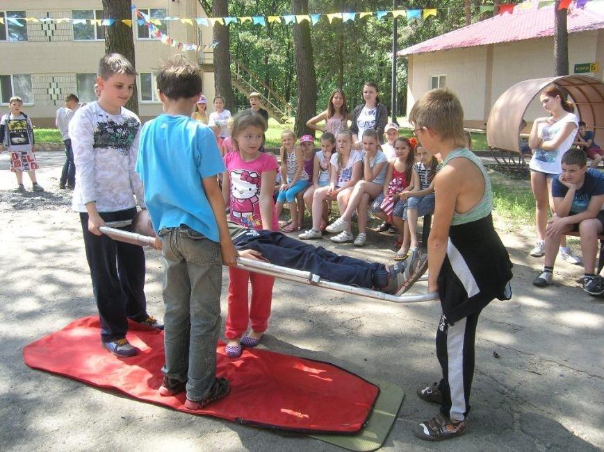 Спасатели провели для юных сумчан мастер-класс (ФОТО) (фото) - фото 1