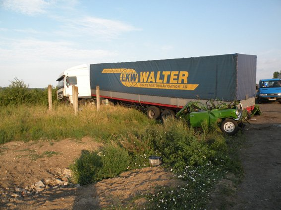 Смерть на встречке: на Николаевщине водитель не заметил грузовик в сумерках (ФОТО) (фото) - фото 2