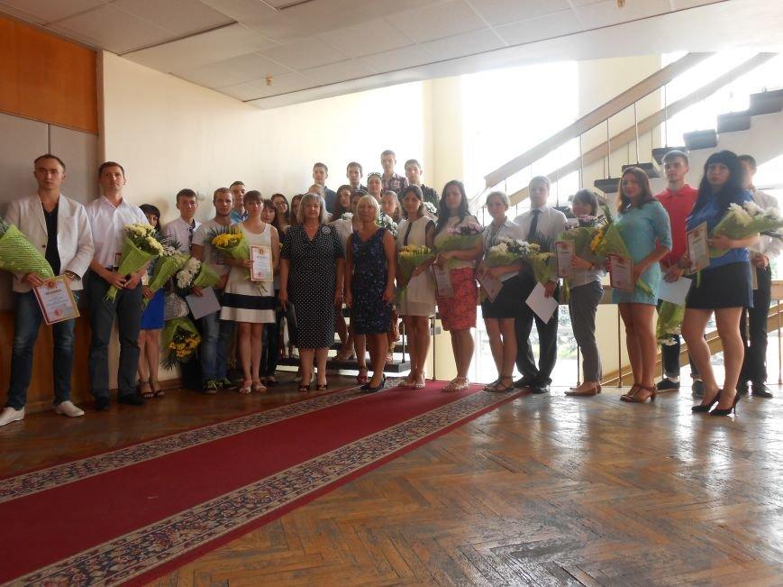 В Днепродзержинском горсовете поздравляли молодежь (фото) - фото 18