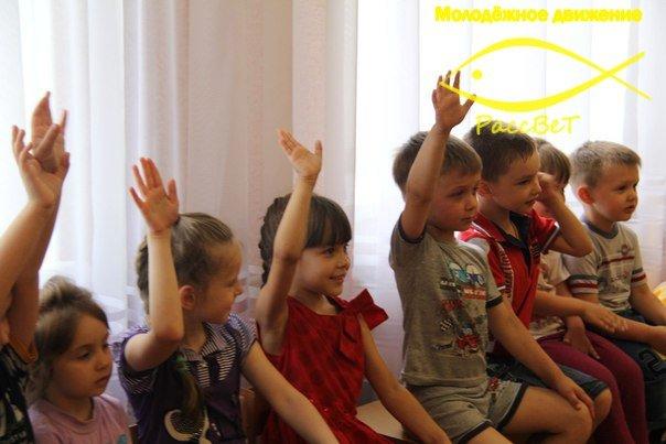 Волонтеры побывали в гостях у воспитанников макеевского детского сада (фото) - фото 1