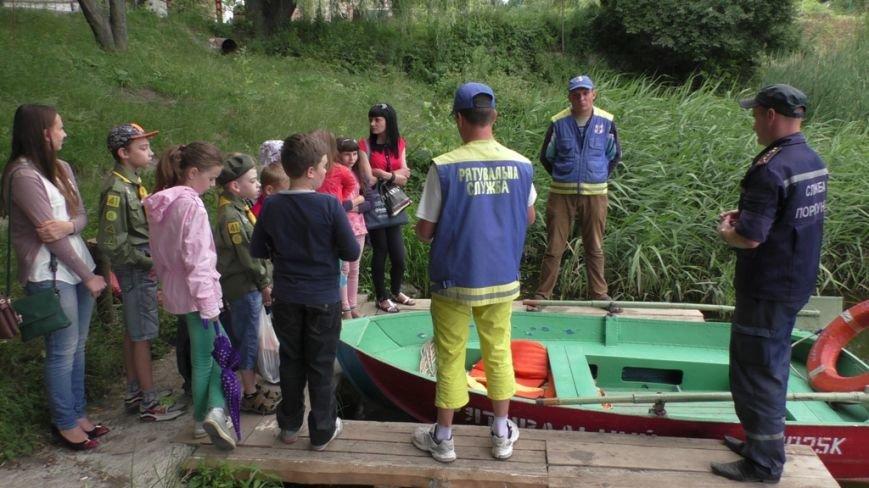 Буковинські рятувальники навчали пластунів порятунку людей, що тонуть (ФОТО) (фото) - фото 2