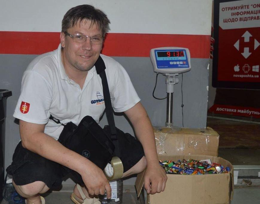 За две недели краматорчане сдали более 87 кг батареек, фото-2