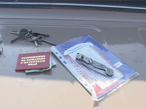 На блокпосту под Сумами задержали угонщика автомобиля (ФОТО) (фото) - фото 1