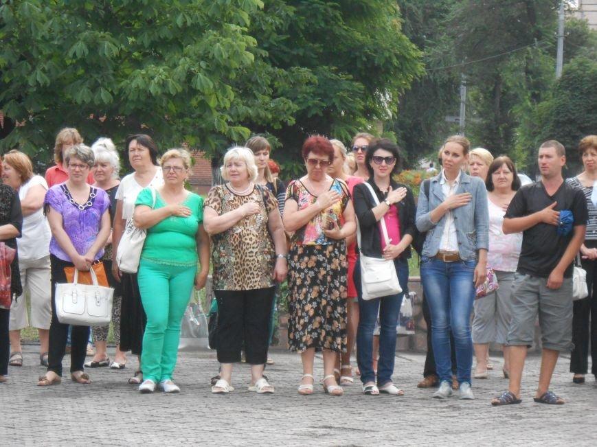 Ко Дню Конституции в Днепродзержинске состоялся торжественный митинг (фото) - фото 6