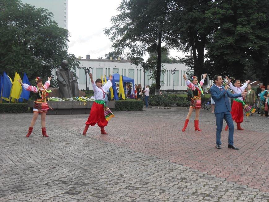 Ко Дню Конституции в Днепродзержинске состоялся торжественный митинг (фото) - фото 13