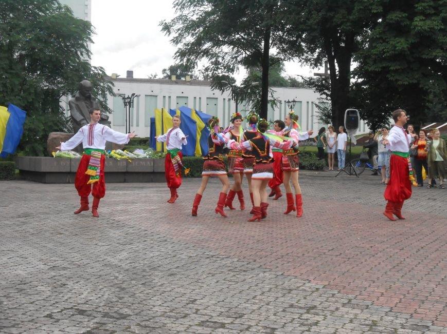 Ко Дню Конституции в Днепродзержинске состоялся торжественный митинг (фото) - фото 12