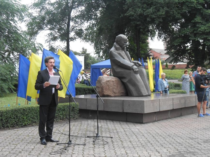 Ко Дню Конституции в Днепродзержинске состоялся торжественный митинг (фото) - фото 5