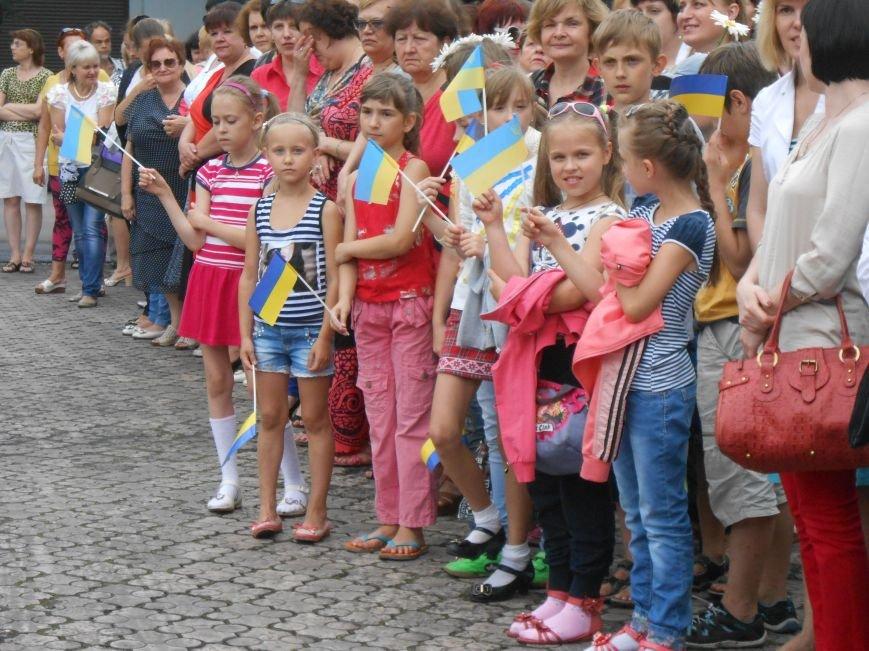 Ко Дню Конституции в Днепродзержинске состоялся торжественный митинг (фото) - фото 16
