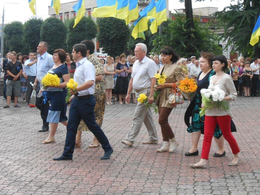 Ко Дню Конституции в Днепродзержинске состоялся торжественный митинг (фото) - фото 9